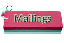 Bouton MAILINGS