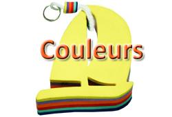 Bouton COULEURS