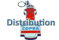 Bouton DISTRIBUTION