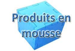 Bouton PRODUITS EN MOUSSE