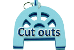 Bouton CUT OUTS