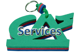 Bouton SERVICES